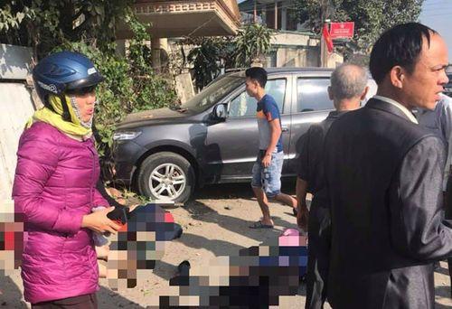 Vụ tai nạn 3 người chết ở Thanh Hóa: Xác định chủ sở hữu xe ô tô biển xanh - Ảnh 1