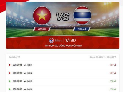 Cháy vé trận U23 Việt Nam - Thái Lan ngay sau khi mở bán - Ảnh 1