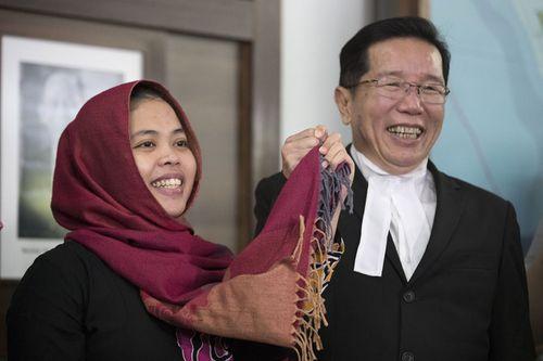 Phản ứng của Đoàn Thị Hương khi nghi phạm Indonesia được phóng thích - Ảnh 1