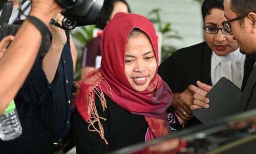 """Nghi án """"Kim Jong-nam"""": Bị cáo Indonesia được tuyên trắng án - Ảnh 1"""
