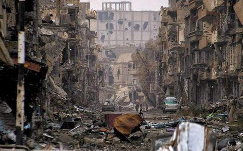 Nổ lớn do bom mìn của khủng bố IS sót lại ở Syria, ít nhất 17 người thiệt mạng - Ảnh 1