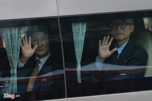 [Trực tiếp] Chủ tịch Triều Tiên về nước: Phái đoàn Triều Tiên đã đến ga Đồng Đăng - Ảnh 1