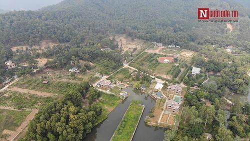 Cận cảnh biệt phủ nhà ca sĩ Mỹ Linh và hàng nghìn công trình sai phạm giữa rừng phòng hộ Sóc Sơn - Ảnh 10