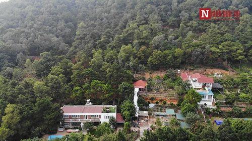 Cận cảnh biệt phủ nhà ca sĩ Mỹ Linh và hàng nghìn công trình sai phạm giữa rừng phòng hộ Sóc Sơn - Ảnh 3