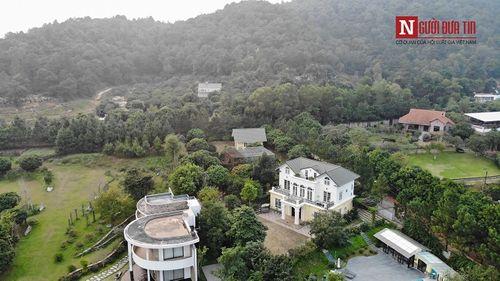 Cận cảnh biệt phủ nhà ca sĩ Mỹ Linh và hàng nghìn công trình sai phạm giữa rừng phòng hộ Sóc Sơn - Ảnh 8