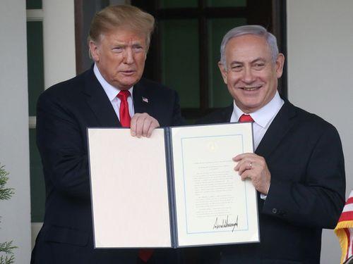 Mỹ công nhận Cao nguyên Golan của Israel: Hàng loạt quốc gia châu Âu lên tiếng phản bác - Ảnh 1