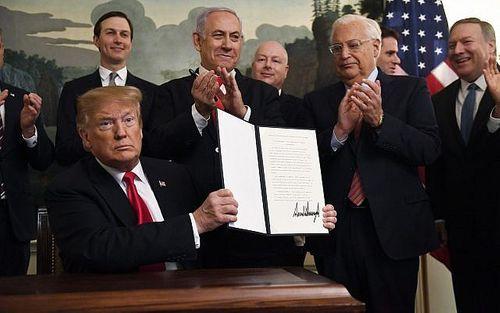 """Vẽ lại bản đồ, Mỹ quyết tâm """"biến"""" cao nguyên Golan thành lãnh thổ của Israel? - Ảnh 2"""