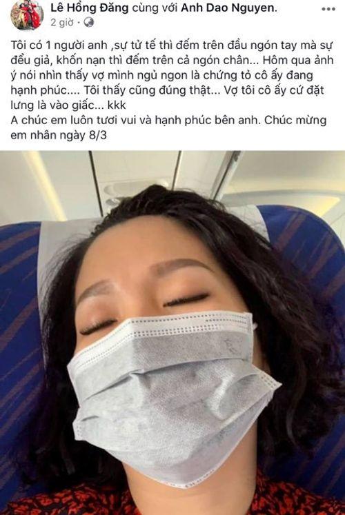 """Dở khóc dở cười các mỹ nhân Việt bị ông xã """"dìm hàng"""" ngày 8/3 - Ảnh 2"""