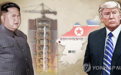 Triều Tiên sắp phóng tên lửa gắn vệ tinh vào không gian?  - Ảnh 1