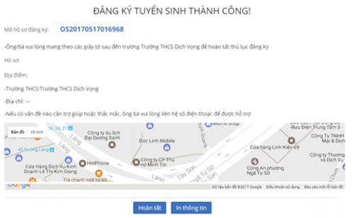 Từ 26/5, Hà Nội triển khai thử nghiệm đăng ký tuyển sinh trực tuyến vào lớp 6 - Ảnh 5