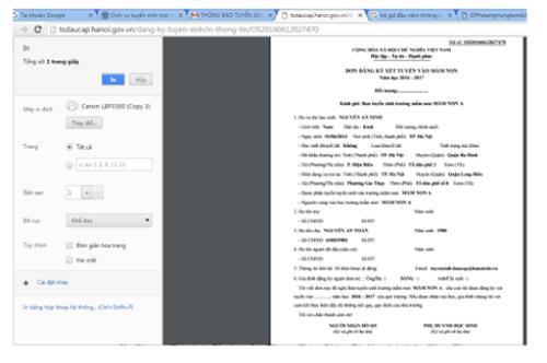 Từ 26/5, Hà Nội triển khai thử nghiệm đăng ký tuyển sinh trực tuyến vào lớp 6 - Ảnh 6