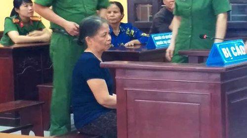 Bà nội giết cháu gái 23 ngày tuổi, giả vụ bắt cóc ở Thanh Hóa lãnh 13 năm tù - Ảnh 1