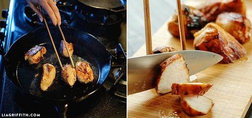Giảm cân thành công với món bún trộn thịt gà đậm vị, giải ngán cuối tuần - Ảnh 3