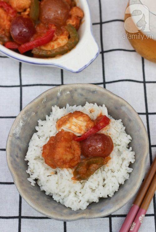 Học cách làm gà chiên sốt mận chua ngọt ngon cơm ngày hè - Ảnh 5