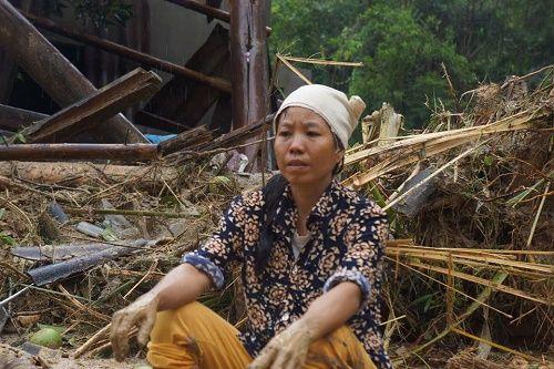 Cơn bão số 3: Hình ảnh tang thương bao trùm vùng quê nghèo ở Thanh Hóa - Ảnh 3