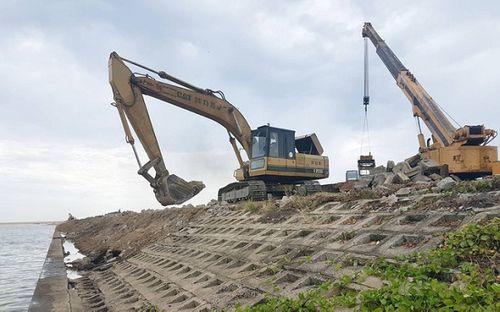 Phú Yên: Chi gần 56 tỷ đồng xử lý sạt lở bờ nam hạ lưu sông Đà Rằng - Ảnh 1