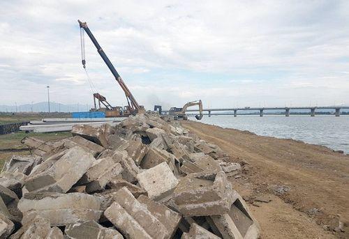 Phú Yên: Chi gần 56 tỷ đồng xử lý sạt lở bờ nam hạ lưu sông Đà Rằng - Ảnh 2