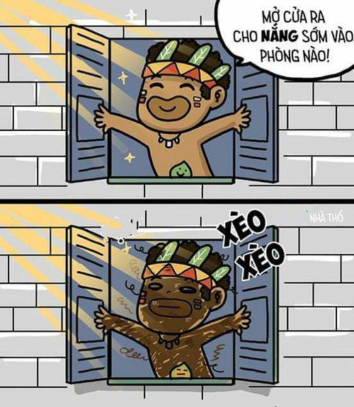 Cười rớt nước mắt với loạt ảnh chế nắng nóng ở Hà Nội của cư dân mạng - Ảnh 16