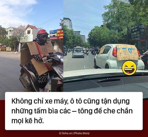 Cười rớt nước mắt với loạt ảnh chế nắng nóng ở Hà Nội của cư dân mạng - Ảnh 2
