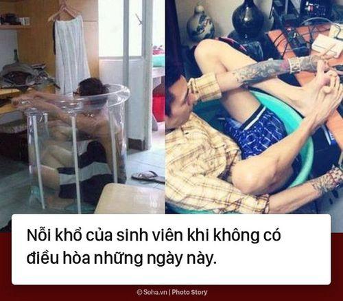 Cười rớt nước mắt với loạt ảnh chế nắng nóng ở Hà Nội của cư dân mạng - Ảnh 4