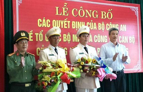 Cần Thơ, Đà Nẵng, Hải Phòng bổ nhiệm hàng loạt lãnh đạo Công an - Ảnh 1