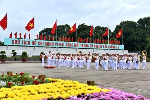 Lãnh đạo Đảng, Nhà nước vào Lăng viếng Chủ tịch Hồ Chí Minh - Ảnh 8