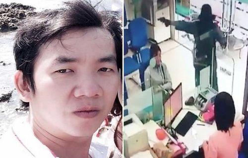Vụ cướp ngân hàng ở Tiền Giang: Nghi phạm đã tử vong do uống thuốc diệt cỏ - Ảnh 1