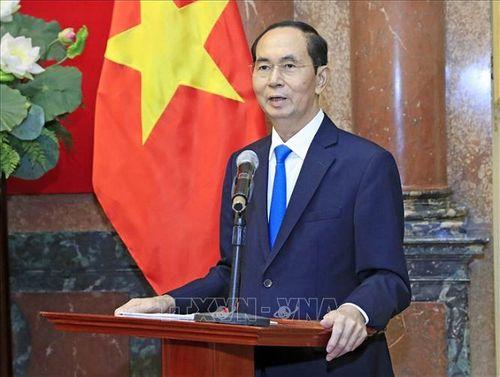 Chủ tịch nước Trần Đại Quang luôn dành tấm lòng yêu thương cho thiếu niên, nhi đồng - Ảnh 11