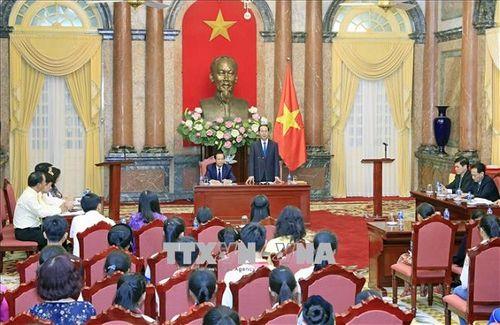 Chủ tịch nước Trần Đại Quang luôn dành tấm lòng yêu thương cho thiếu niên, nhi đồng - Ảnh 12