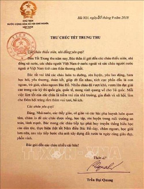 Chủ tịch nước Trần Đại Quang luôn dành tấm lòng yêu thương cho thiếu niên, nhi đồng - Ảnh 2
