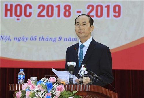 Chủ tịch nước Trần Đại Quang luôn dành tấm lòng yêu thương cho thiếu niên, nhi đồng - Ảnh 5