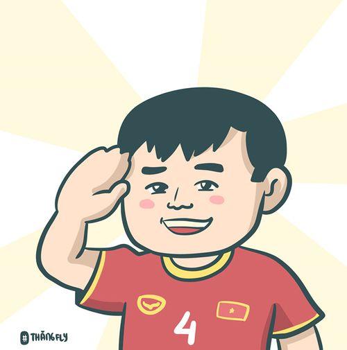 """Việt Nam hạ gục Jordan, cộng đồng mạng phấn khích """"họa"""" niềm vui bằng tranh vẽ - Ảnh 7"""