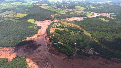 Brazil: Vỡ đập tại mỏ sắt, hàng chục người chết, gần 200 người mất tích - Ảnh 1