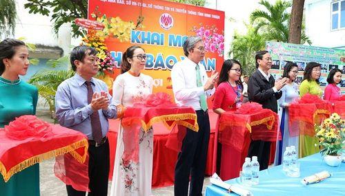 Ninh Thuận: Náo nức khai mạc Hội Báo xuân Kỷ Hợi 2019 - Ảnh 2