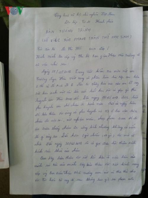 Đề nghị tạm đình chỉ nữ giáo viên tát học sinh lớp 1 vì làm nhầm đề kiểm tra - Ảnh 3