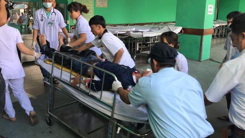 Hiện trường vụ xe khách chở 21 người lao xuống vực sâu ở đèo Hải Vân - Ảnh 5