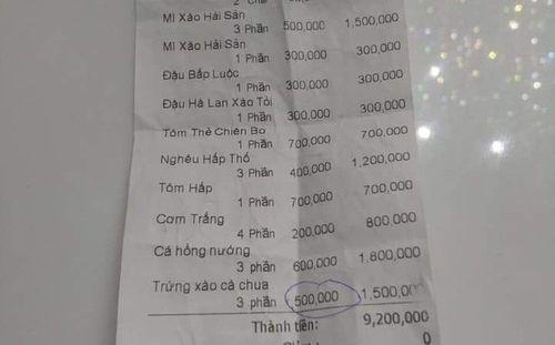 500.000 đồng cho đĩa trứng xào cà chua: Điểm tối trong công tác quản lý? - Ảnh 1