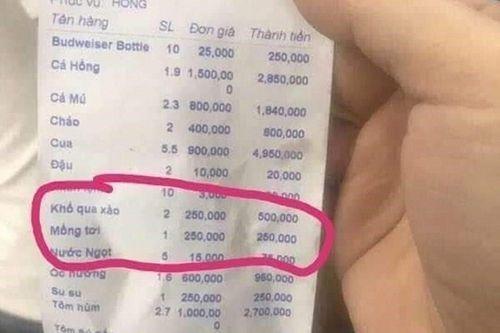 Vụ khách du lịch bị chặt chém đĩa rau mồng tơi 250.000 đồng: Phạt nhà hàng 750.000 đồng - Ảnh 2