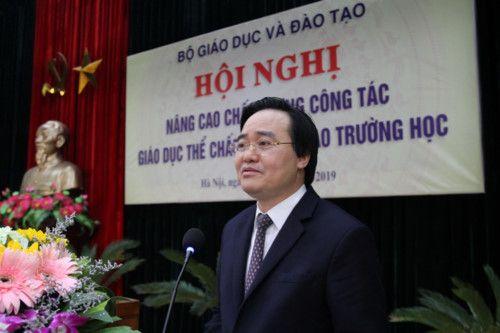 Bộ trưởng Phùng Xuân Nhạ trăn trở về giáo viên thể chất - Ảnh 1