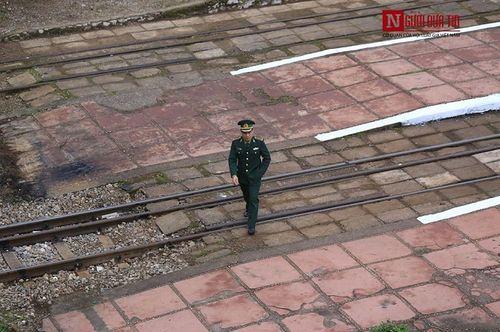 Cận cảnh cung đường sắt đón tàu bọc thép của nhà lãnh đạo Triều Tiên Kim Jong-un - Ảnh 8