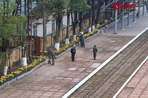 Cận cảnh cung đường sắt đón tàu bọc thép của nhà lãnh đạo Triều Tiên Kim Jong-un - Ảnh 9