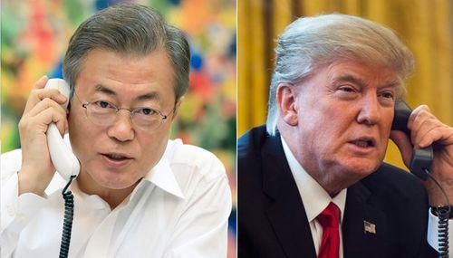 Ông Trump điện đàm với lãnh đạo Nhật Bản, Hàn Quốc sau hội nghị thượng đỉnh Mỹ - Triều - Ảnh 1
