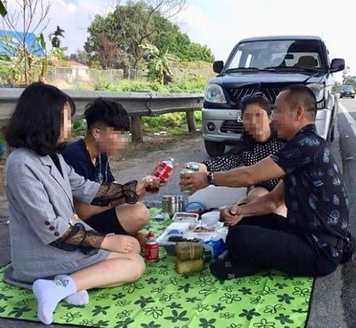 Xử lý vụ Khá Bảnh cùng nhóm thanh niên dàn hàng chụp ảnh trên cao tốc Hà Nội-Hải Phòng - Ảnh 2