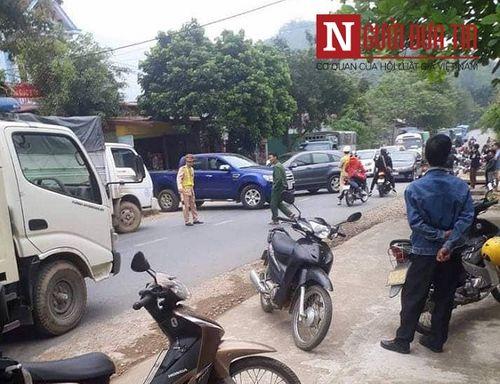 Vụ nghi nổ mìn trước nhà người tình ở Phú Thọ: Nghi phạm từng lãnh án vì nổ mìn ở nhà bố vợ - Ảnh 1