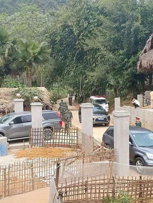 Vụ nghi nổ mìn trước nhà người tình ở Phú Thọ: Nghi phạm từng lãnh án vì nổ mìn ở nhà bố vợ - Ảnh 2