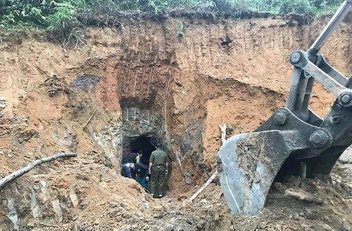 Hé lộ nguyên nhân vụ sập mỏ thiếc khiến 3 người tử vong ở Nghệ An - Ảnh 1