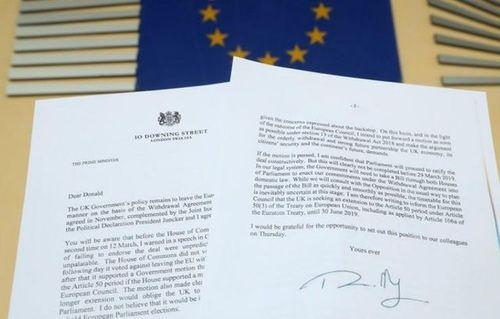 Sắp tới hạn chót, Thủ tướng Anh Theresa May xin hoãn 'rời mái nhà chung với EU' thêm 3 tháng - Ảnh 2
