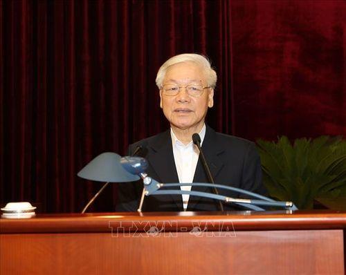 Tổng Bí thư, Chủ tịch nước Nguyễn Phú Trọng chủ trì Hội nghị gặp mặt cán bộ lãnh đạo cấp cao nghỉ hưu - Ảnh 1