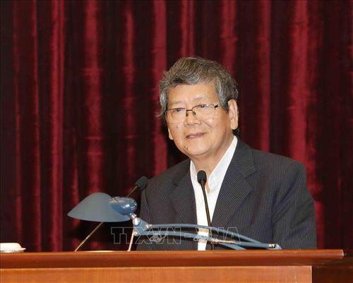 Tổng Bí thư, Chủ tịch nước Nguyễn Phú Trọng chủ trì Hội nghị gặp mặt cán bộ lãnh đạo cấp cao nghỉ hưu - Ảnh 10
