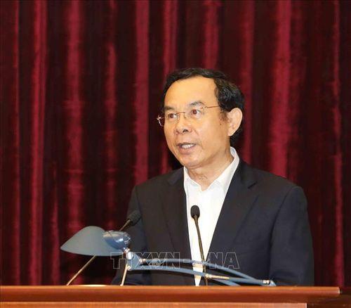 Tổng Bí thư, Chủ tịch nước Nguyễn Phú Trọng chủ trì Hội nghị gặp mặt cán bộ lãnh đạo cấp cao nghỉ hưu - Ảnh 8